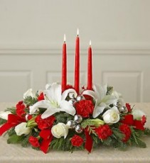 Peaceful Holiday Centerpiece