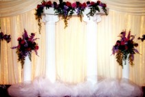 Pillars on Earth Wedding Flowers
