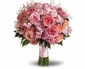 Pink Blossom  Wedding Bouquet