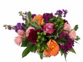 Pin Wheel  Flower Arrangement