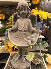 Pinafore resin angel