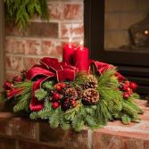 Pine Christmas Centerpiece