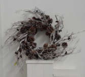 Pine cone wreath Silk Wreath