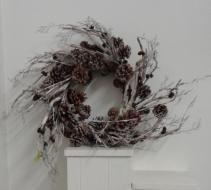 Pine cone wreath Silk Wreath