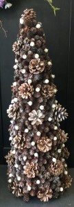 "Pinecone Topiary -  24"" Gifts in Sutton, MA 