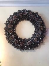 Pinecone Wreath Gift Item