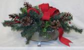 Pinecones & Berries Permanent Arrangement by Inspirations Floral Studio