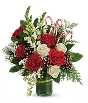 Pines Bouquet Christmas in Granada Hills, CA | GRANADA HILLS FLOWERS
