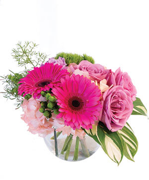 Pink Amore Floral Arrangement in Cary, NC | GCG FLOWERS & PLANT DESIGN