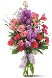 Pink and Lavender Suprise Fresh Flowers