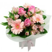 Pink and Pretty bouquet Product Id #J10