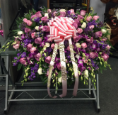 PINK AND PURPLE Casket