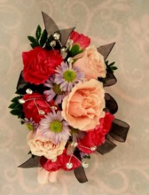 Pink and Purple Corsage Corsage