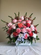 Pink arrangement Arrangement