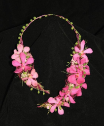Pink Beauty Prom Necklace