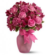 Pink Blush Bouquet  TFWEB330