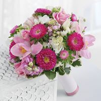 Pink Blush  Bride Bouquet