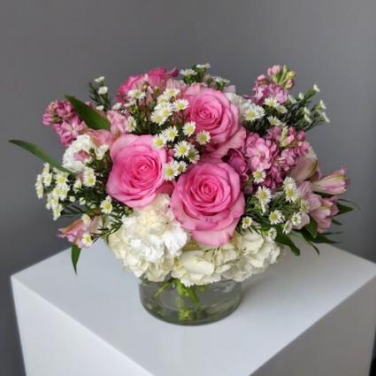 Pink Blush floral arrangement