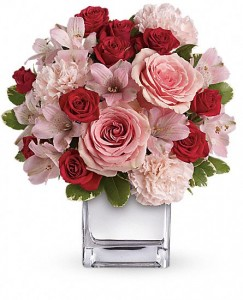 Pink Bouquet with Roses