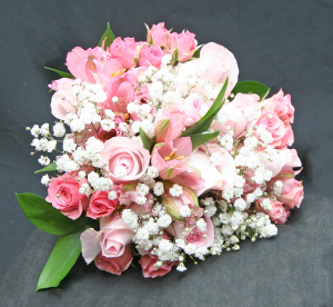 PINK BRIDAL BOUQUET BRIDAL BOUQUET in West Palm Beach, FL | FLOWERS TO GO