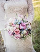 Pink Bridal Bouquet  Wedding
