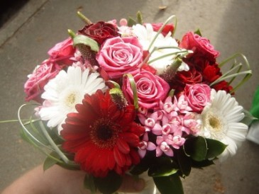 Pink Brides Bouquet or Bridesmaid bouquet Prices vary in size