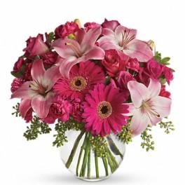 Pink & Bubbly Floral Bouquet