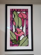 Pink Calla Lilies wall art Gift