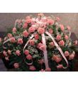 Pink Carnation Casket Spray