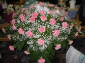 Pink Carnations (C5) Casket Spray