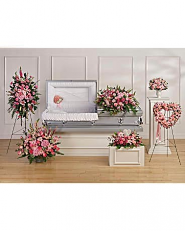 Pink Casket grouping Grouping