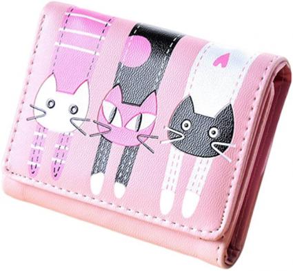 Pink Cat Wallet