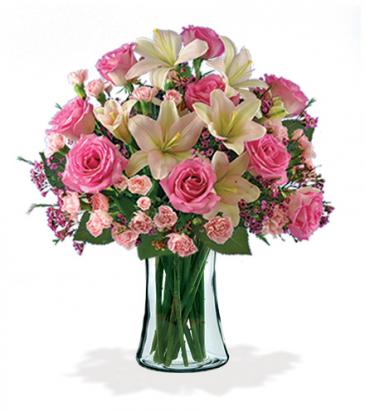 Pink Celebration Vase Arrangement
