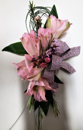 Pink Champagne Corsage