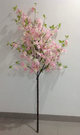 Pink Cherry Blossom Tree   in New York, NY   PANY SILK FLOWERS