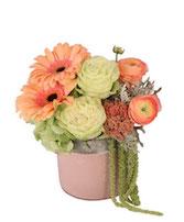 Pink Cherub Floral Design