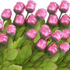 Pink Chocolate Roses!!!! Special Add-on For Any Occasion