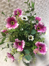 Pink Cosmos Permanent Arrangement