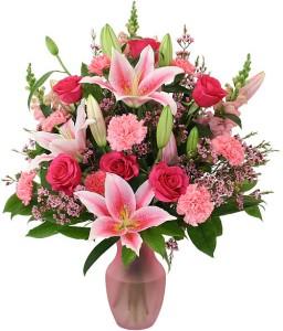 Pink Delight Vase