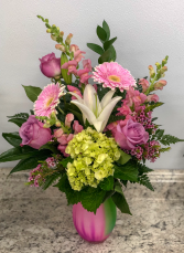 Pink Delight Fresh Arrangement