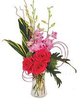 Pink Dendrobium Dream Floral Design