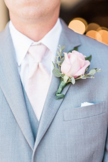 PINK DREAM  Prom Boutonniere