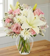 Pink Dream Vase Arrangement
