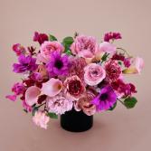 Pink Embrace Flower Arrangement Luxury