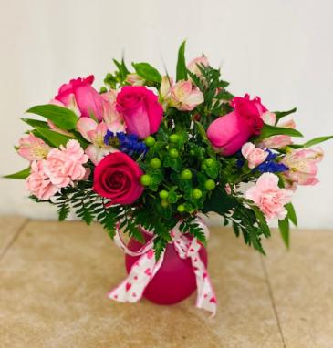 Pink Essence floral arrangement