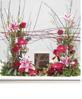 Pink Eucalyptus  urn Cremation