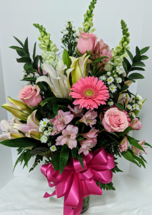 Pink Explosion  in Douglasville, GA | The Flower Cottage & Gifts, LLC
