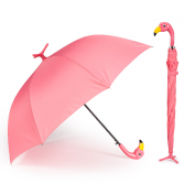 Pink Flamingo  Standing Umbrella