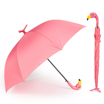 Pink Flamingo  Standing Umbrella