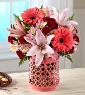 Pink Floral Garden Bouquet